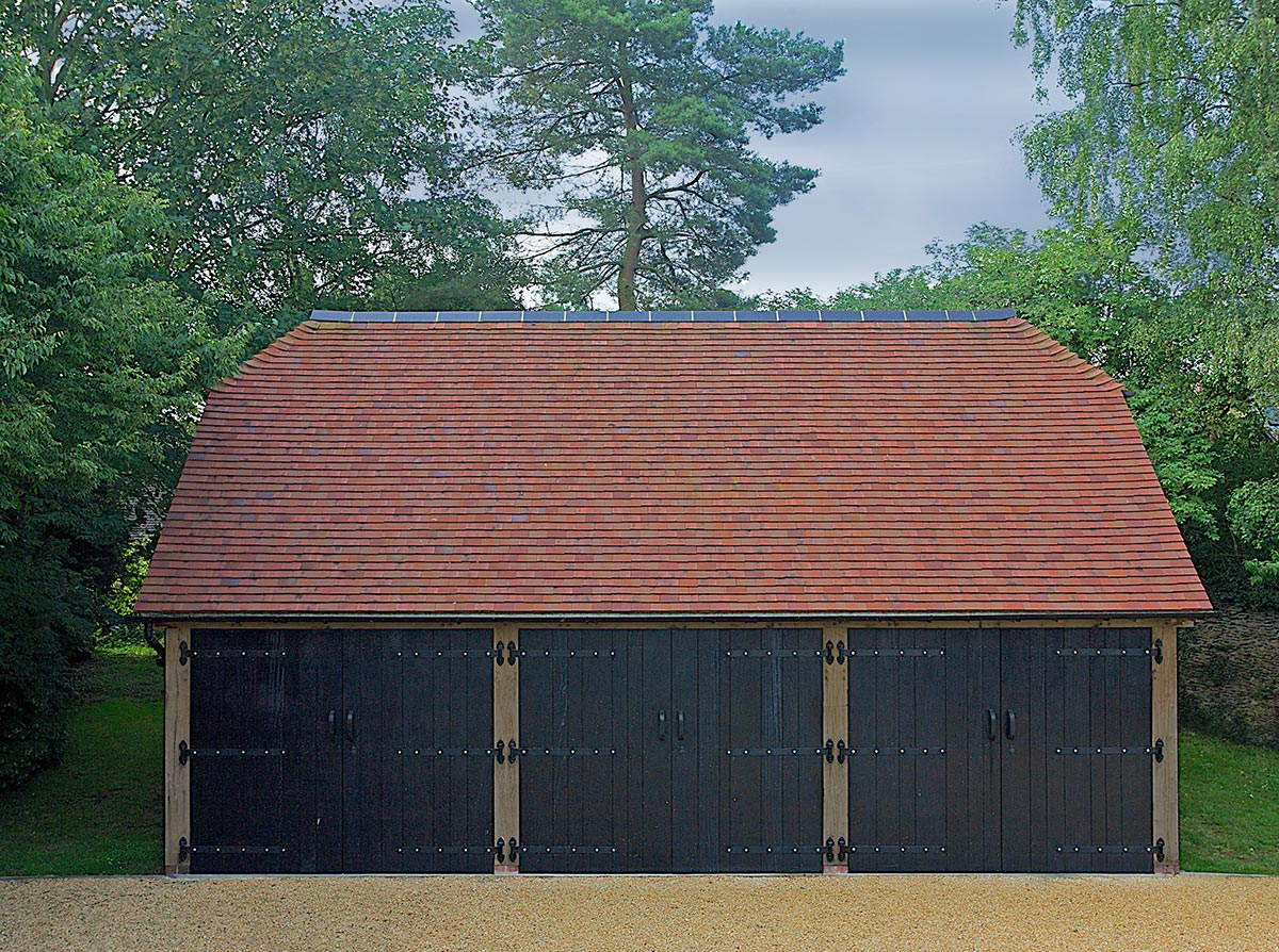 Three Bay Cart Barns Brookwood Oak Barns